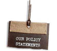 Click to read our Policy Statements